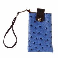 Чехол для мобильного телефона ″Классика″ с ремешком на клепке 13*8 купить оптом и в розницу