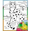 Набор ДТ Роспись по холсту Леопард Х-9835 купить оптом и в розницу