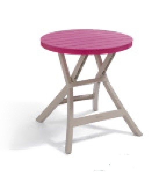 Стол Oregon Curver роз./беж.70*70*72 (BISTRO TABLE) купить оптом и в розницу