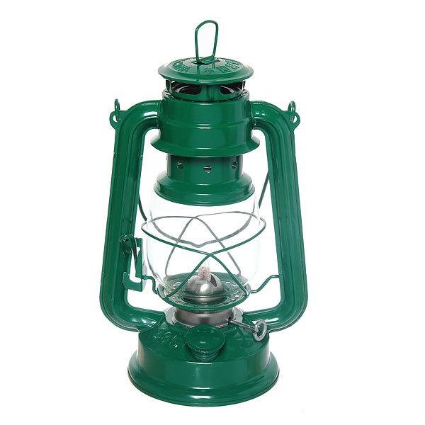 Лампа керосиновая переносная 180мл 24,5см,цвет зеленый купить оптом и в розницу