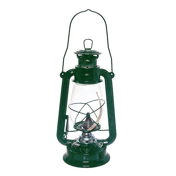 Лампа керосиновая переносная 330мл 31см,цвет зеленый купить оптом и в розницу