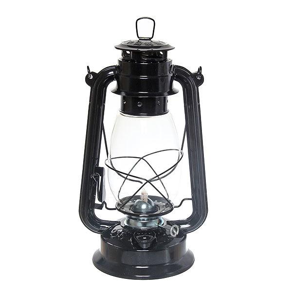 Лампа керосиновая переносная 330мл 31см,цвет черный купить оптом и в розницу