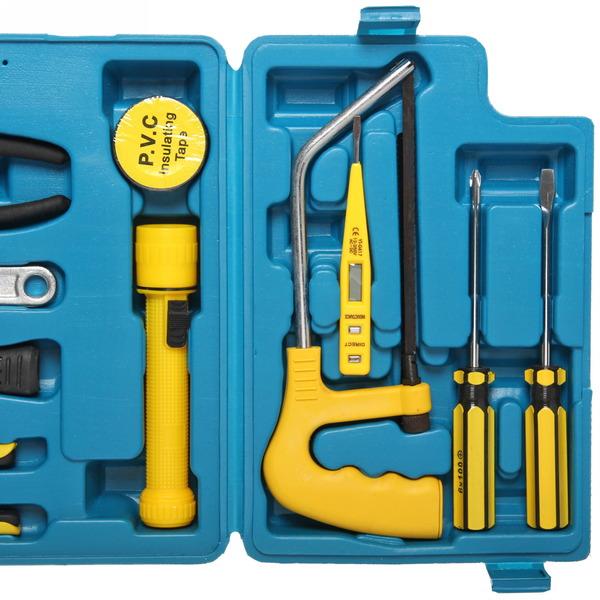Набор инструментов, 17 предметов, в кейсе купить оптом и в розницу