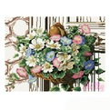 Набор ДТ Картина мозаикой Ампельные цветы GZ031 купить оптом и в розницу