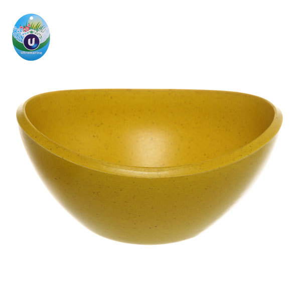 Горшок для цветов ЭКО Чаша″ 7*14см ABY-01 желтая 0,5 купить оптом и в розницу