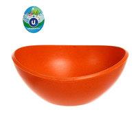 Горшок для цветов ЭКО Чаша″ 10,5*19см YBA02 оранжевая 1,3 купить оптом и в розницу