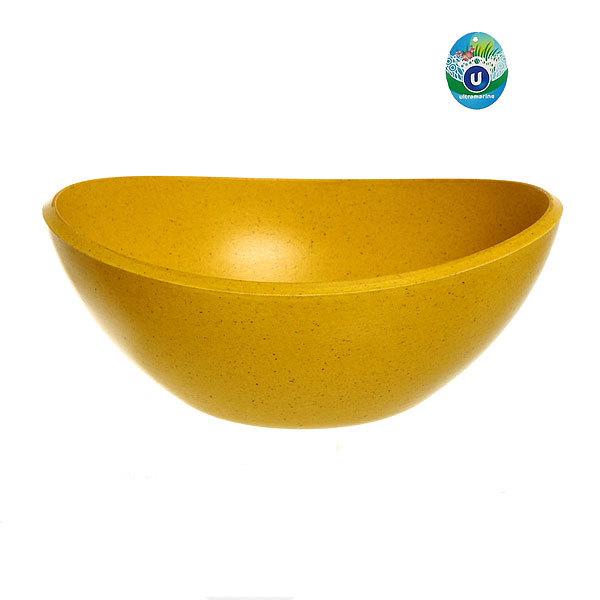 Горшок для цветов ЭКО Чаша″ 10,5*19см YBA02 желтая купить оптом и в розницу