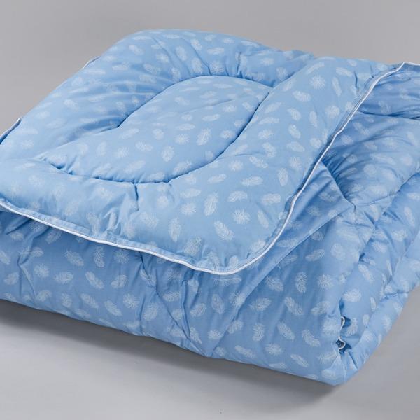 Одеяло 1.5 лебяжий пух/тик в чемодане арт.162, 195 Миромакс  купить оптом и в розницу