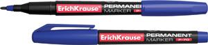 Маркер перм.Erich Krause P-70 круг/жало 1 мм синий купить оптом и в розницу
