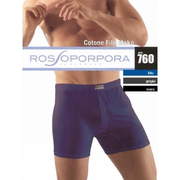 Трусы мужские Rossoporpora 760 boxer (blu, XXXL) купить оптом и в розницу