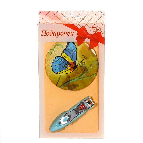 Подарочный набор (Книпсер+зеркальце) JK-07 купить оптом и в розницу