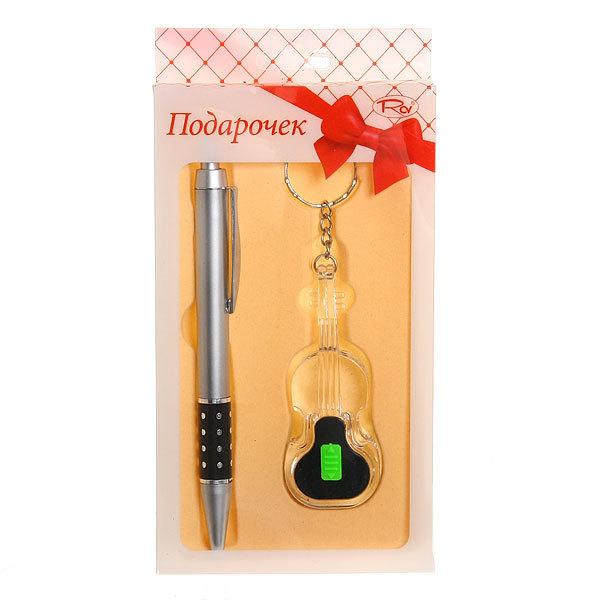 Подарочный набор (Брелок-фонарик″Гитара″+ручка) ТВ-10 купить оптом и в розницу