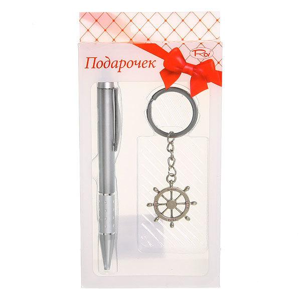 Подарочный набор (Ручка+брелок ″Штурвал″) ТВ-17 купить оптом и в розницу