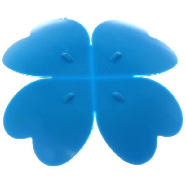 Мыльница ″Клевер″ 9,5х9,5 синяя купить оптом и в розницу