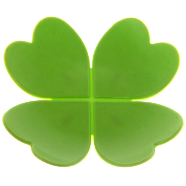 Мыльница ″Клевер″ 9,5х9,5 зеленая купить оптом и в розницу