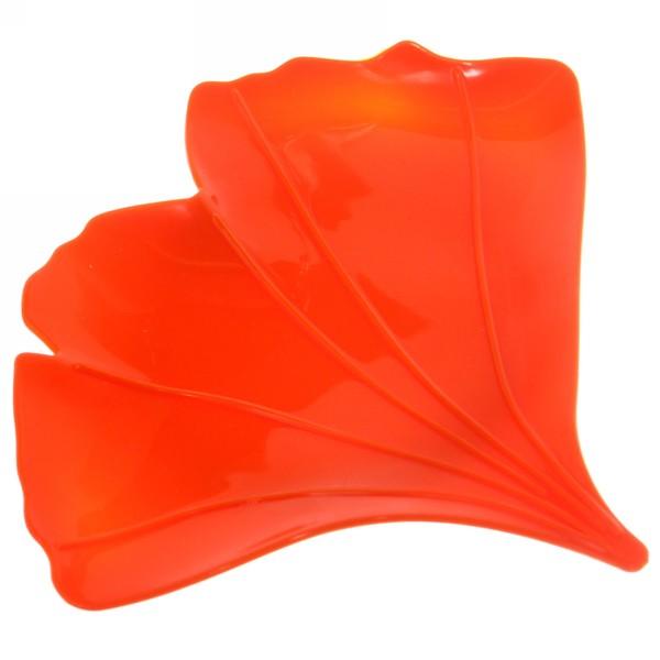 Мыльница ″Цветок″ 13х15 оранжевая купить оптом и в розницу