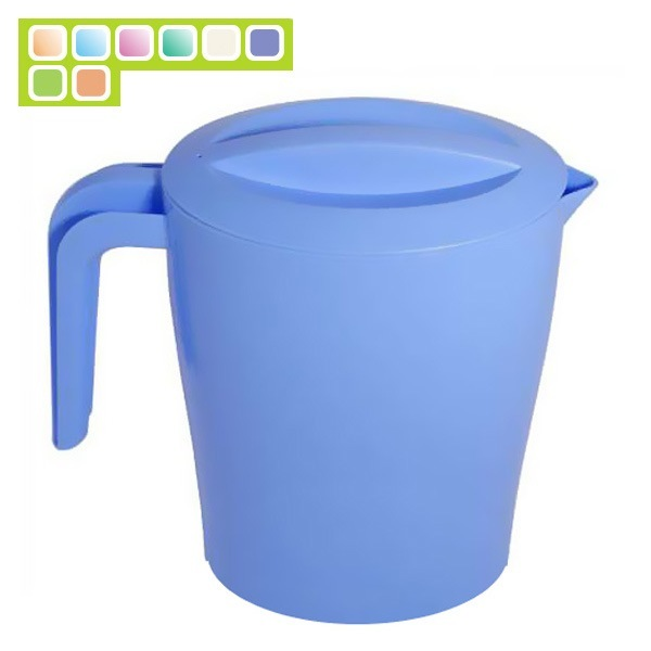 Кувшин пластиковый 1,4л ″Таис″ с крышкой купить оптом и в розницу