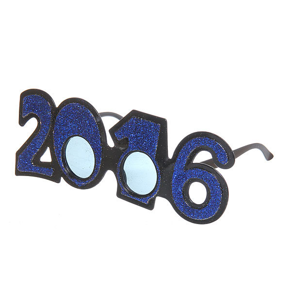 Очки карнавальные ″2016 Блеск″ 1525-4 купить оптом и в розницу