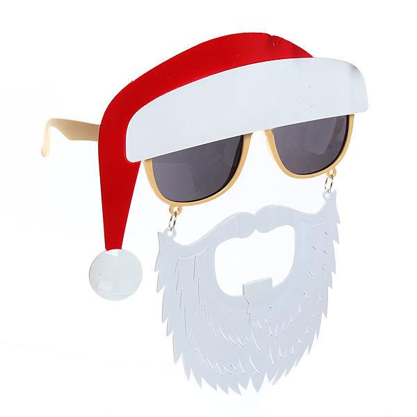 Очки карнавальные ″Дед Мороз с бородой″ 1525-5 купить оптом и в розницу