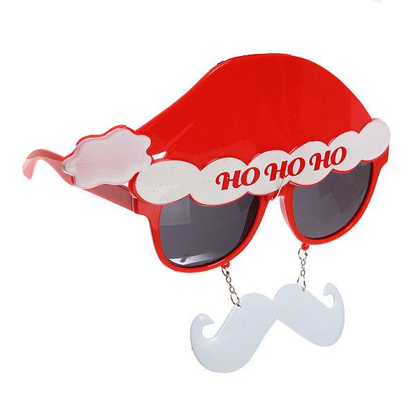 Очки карнавальные ″Дед Мороз с усами″ 1525-6 купить оптом и в розницу