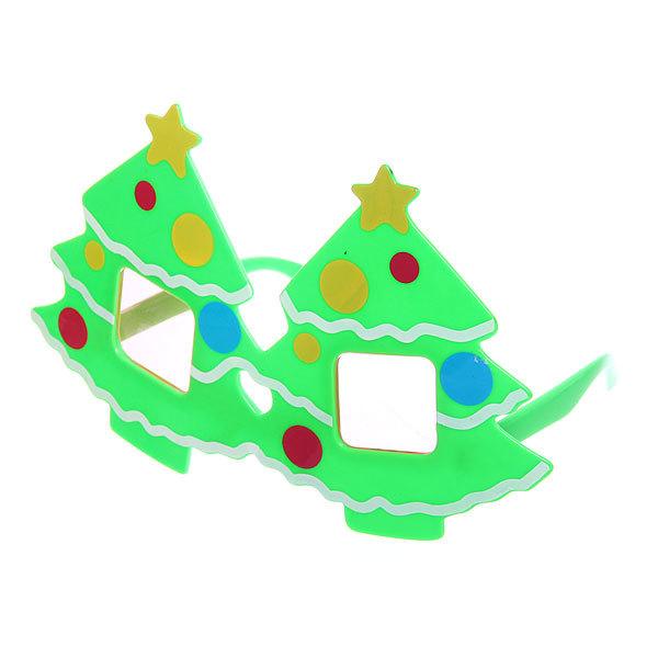 Очки карнавальные ″Новогодняя Елочка″ 1525-7 купить оптом и в розницу
