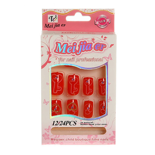 Ногти накладные ″Модный маникюр″ (без клея) 240-3 купить оптом и в розницу