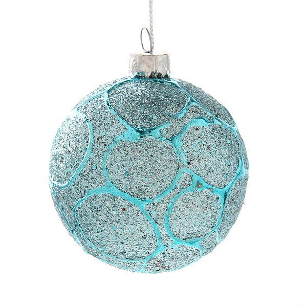 Новогодние шары ″Зимний лес″ 6см (набор 6шт.) купить оптом и в розницу