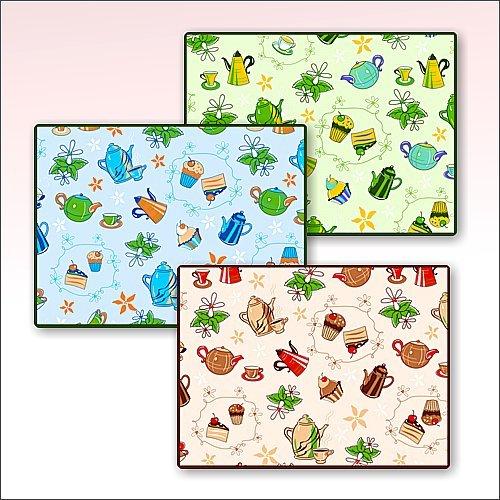 Салфетка-коврик для посуды Чаепитие 30*45см HC87-110 купить оптом и в розницу