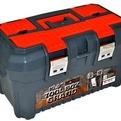 """Ящик для инструментов GRAND SOLID 19,5"""" серо-свинцовый/оранжевый *8 купить оптом и в розницу"""