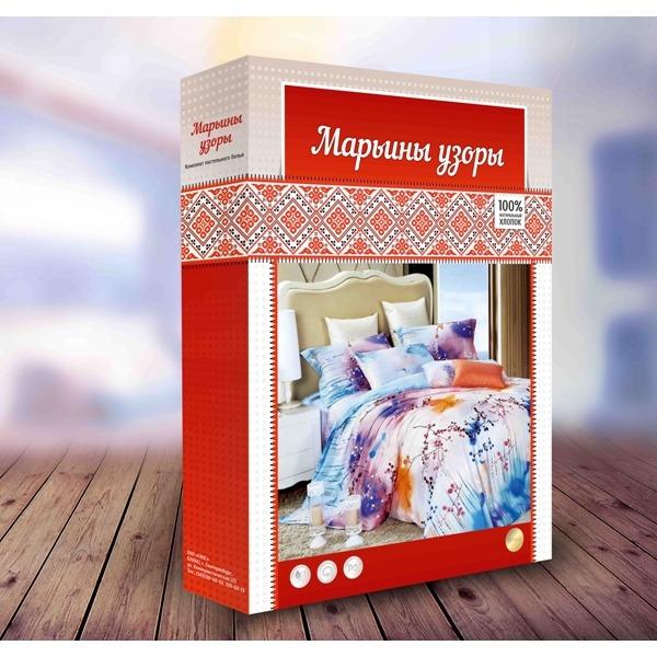 КПБ 1.5 бязь Марьины узоры 1нав купить оптом и в розницу