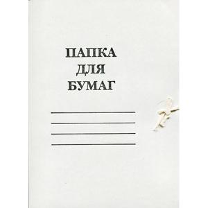 Папка карт.с завязками 440г/м мел. купить оптом и в розницу