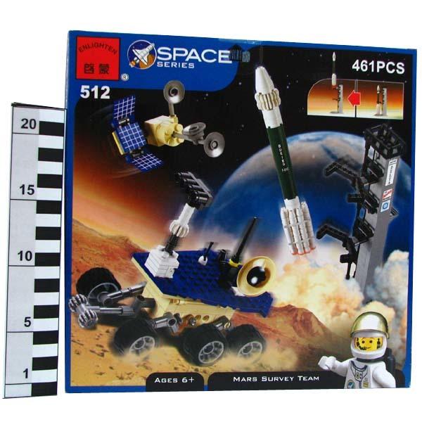 Констр-р 512 Космический корабль 461 дет. в кор. купить оптом и в розницу