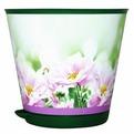 Горшок для цветов Крит D 120 mm с системой прикорневого полива 0,7л Хризантемы*16 купить оптом и в розницу