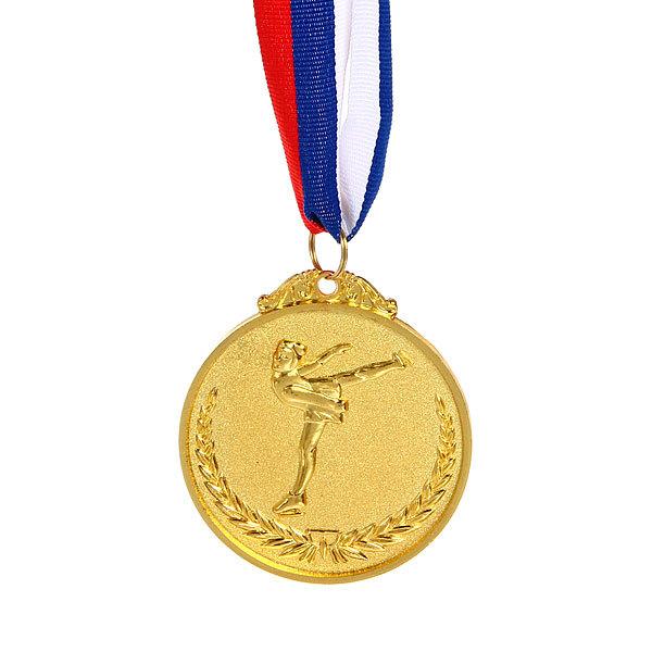 Медаль ″Фигурное катание″- 1 место (6,5см) купить оптом и в розницу