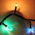 Гирлянда 3,0м, 50 ламп Мини, Мультицвет, 8 реж, черн.пров. купить оптом и в розницу