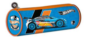Пенал-тубус Mattel HW круглый, синий купить оптом и в розницу