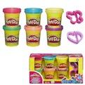 Play-Doh Набор пластилина Блестящая коллекция 6 банок А5417 купить оптом и в розницу