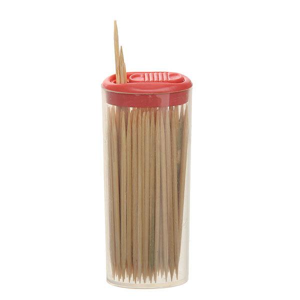 Зубочистки 80шт ″Toothpick″ в пластиковой банке купить оптом и в розницу