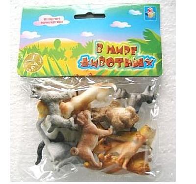 Набор животных 1toy Т50535 Собака, кошки купить оптом и в розницу