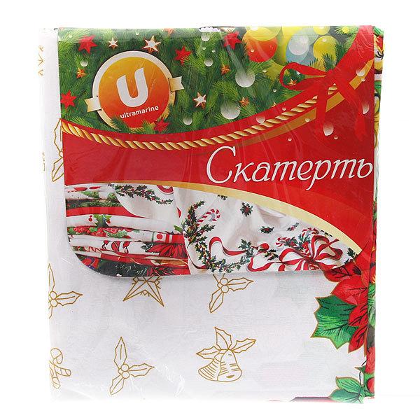 Скатерть ″Новогоднее настроение″ 120*150см 7 Ультрамарин купить оптом и в розницу