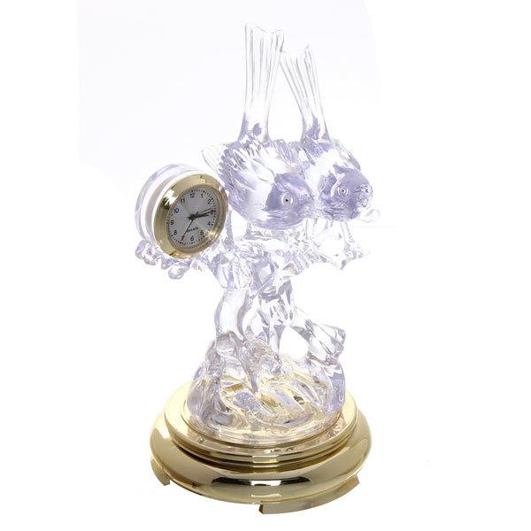 Часы сувенирные ″Воробушки на ветке″ OKA09135 с подсветкой купить оптом и в розницу