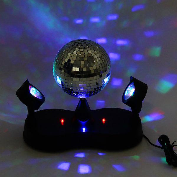 Световой прибор Зеркальный шар с LED подсветкой купить оптом и в розницу