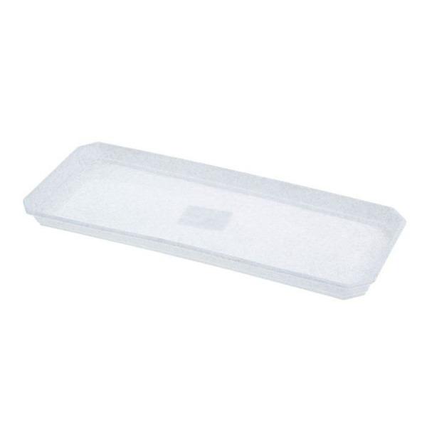 Поддон для балконного ящика 40 см белый *20 купить оптом и в розницу