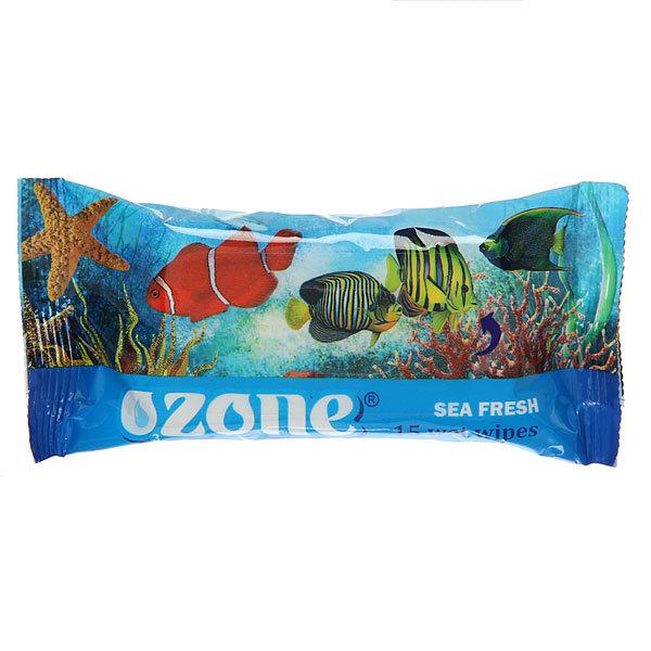 Салфетки влажные 15шт. OZON аромат морской свежести купить оптом и в розницу