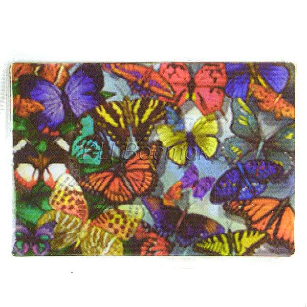 Магнит голограмма ″Бабочки″ 50х75мм купить оптом и в розницу