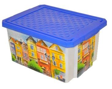 Ящик для хранения Optima Город 12 л л*4 купить оптом и в розницу