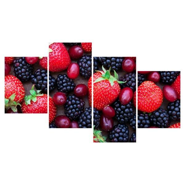 Картина модульная полиптих 60*129 Еда диз.3 15-03 купить оптом и в розницу