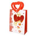 Пакет подарочный ″Сердечки″ 18*24*8см L5 купить оптом и в розницу