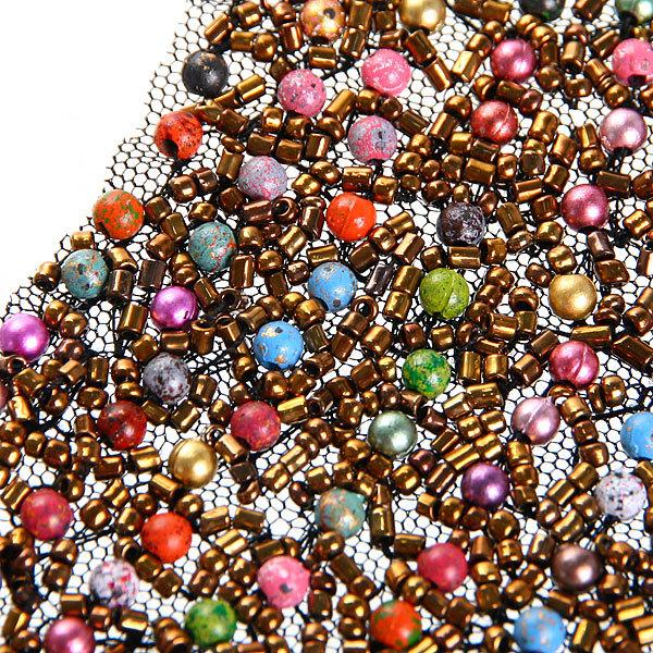 Воротничок ″Коко-золотое искушение″, цвет разноцветный купить оптом и в розницу