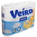 Бумага туалетная 2сл 6рул. ″Linia Veiro″ арт.5С212 (1x12) Сlassiс(6) купить оптом и в розницу